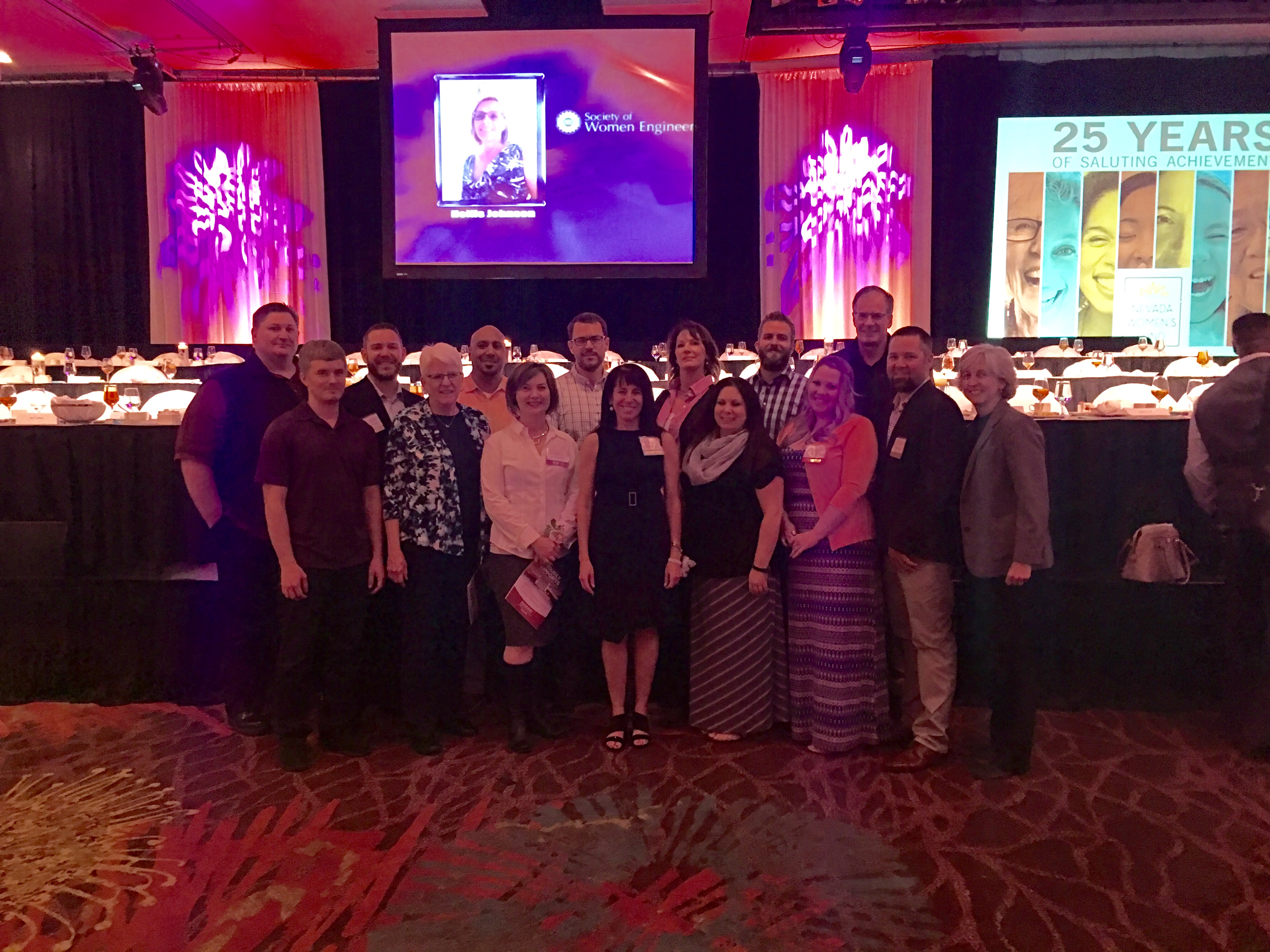PK employees at the Nevada Women of Achievement luncheon