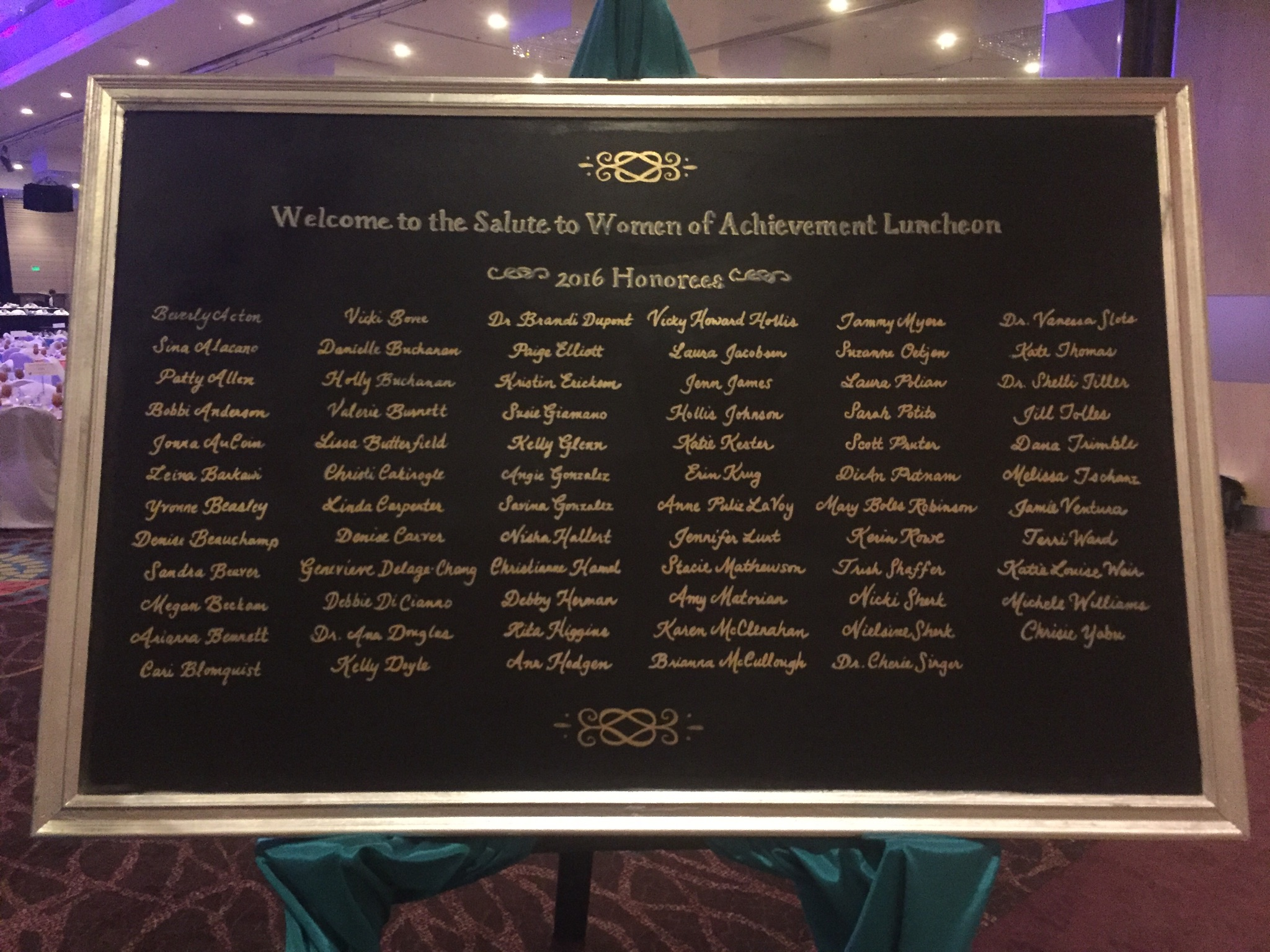 Over 70 honorees!
