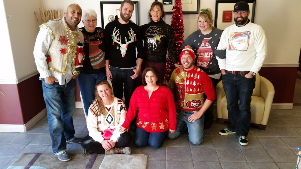 The Ugly Christmas Sweater Crew!